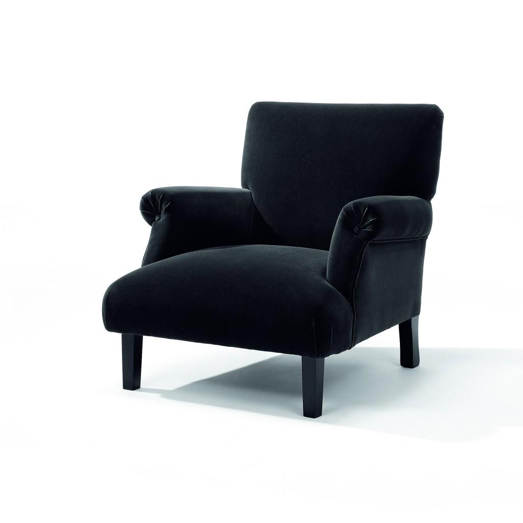 Rosa_fauteuil_zwart